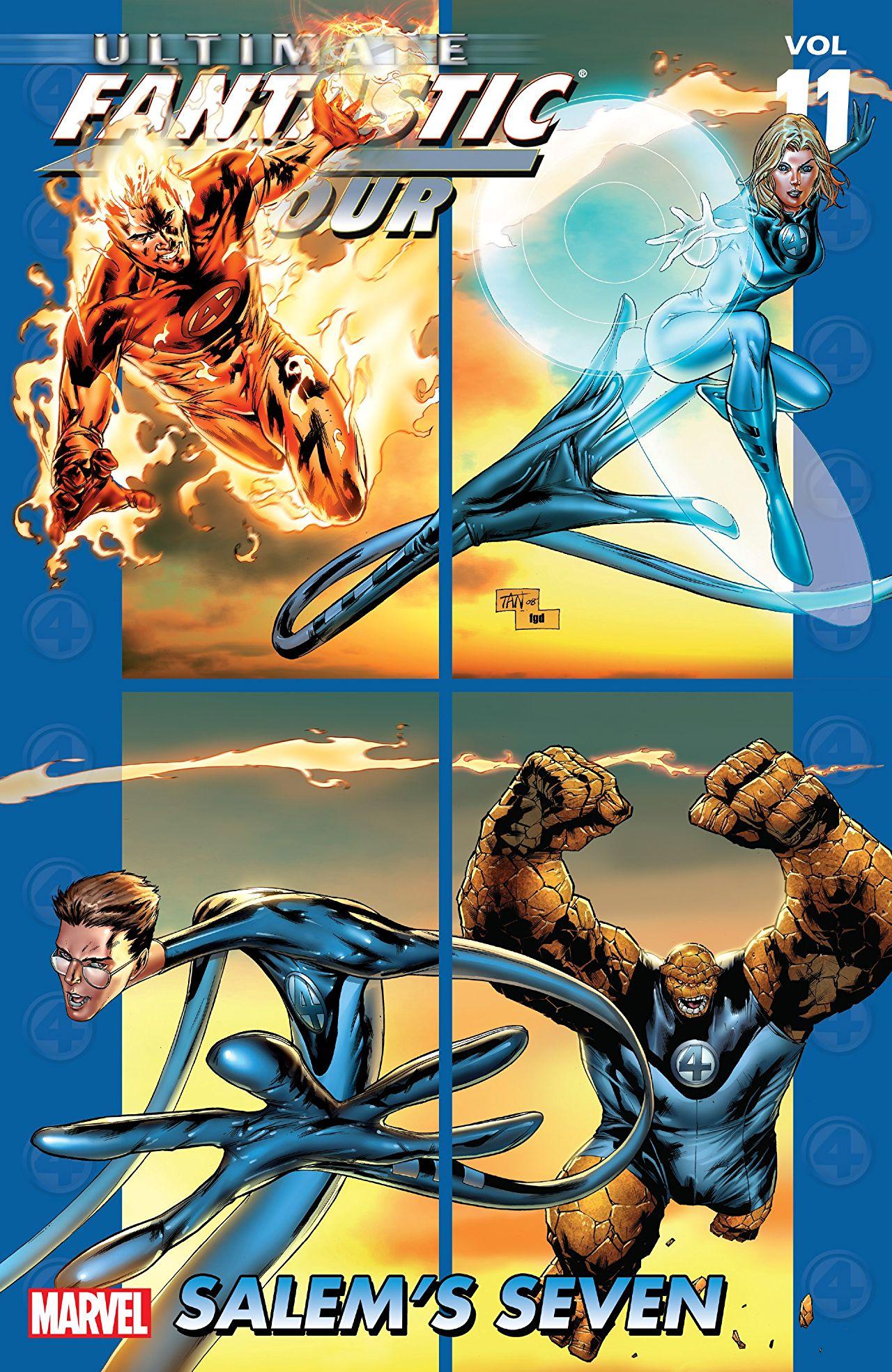 Ultimate Fantastic Four, Volume 11: Salem's Seven