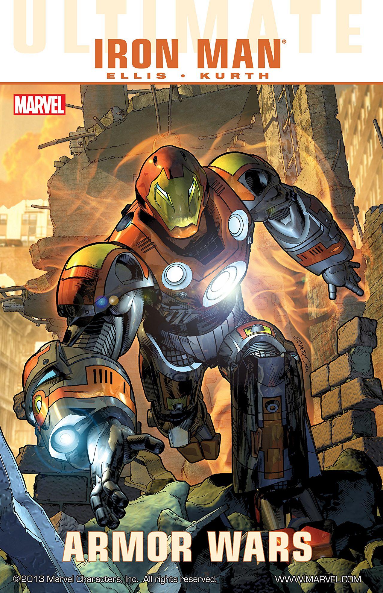 Ultimate Comics Iron Man: Armor Wars