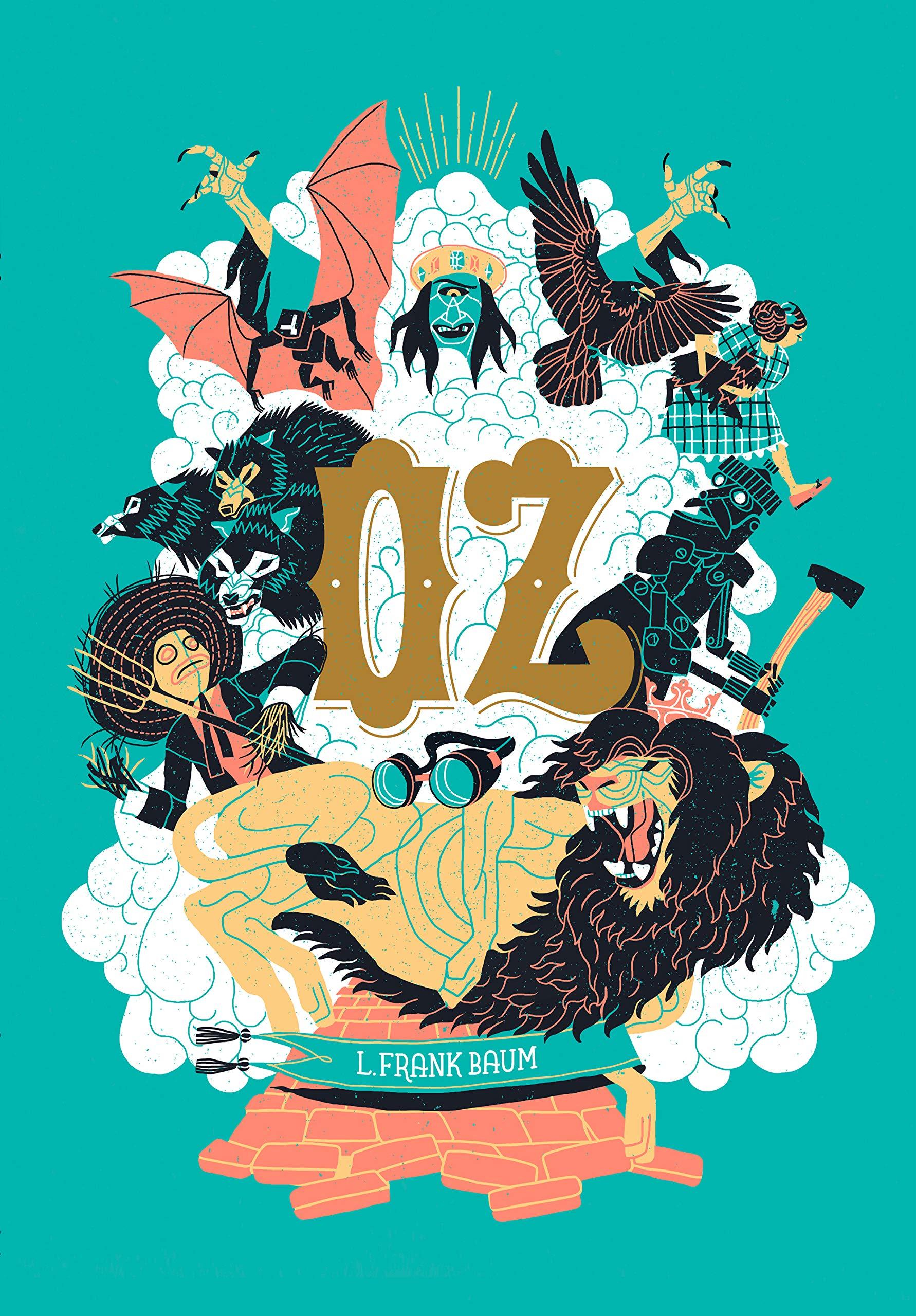 Oz: O magnífico Mágico de Oz e a maravilhosa Terra de Oz