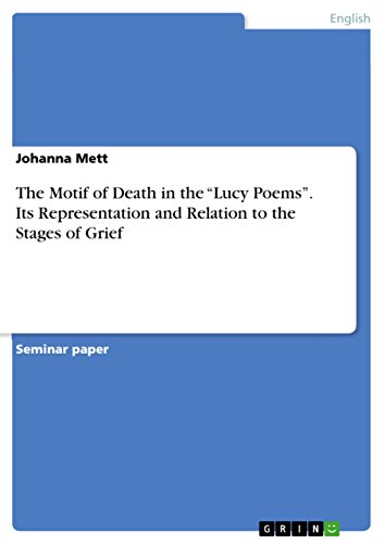 """The Motif of Death in the """"Lucy Poems"""". Its Representation and Relation to the Stages of Grief"""
