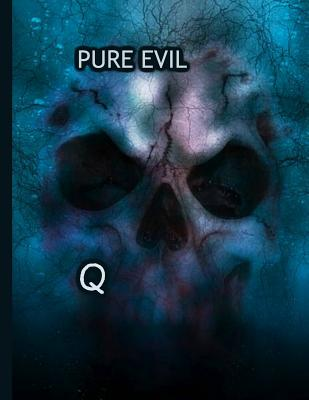 Pure evil! Q: KAG MAGA 8.5 x 11 Make America Great Again Notebook Q anon Journal Planner Doodling Scrapbook Trumpster POTUS patriot paper pad support Red Republican - God Bless America