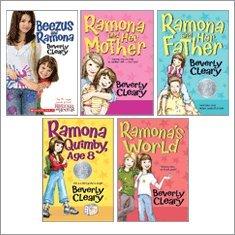 Ramona and Family Collection (Beezus and Ramona, Ramona Quimby Age 8, Ramona and Her Mother, Ramona and Her Father, Ramona's World)