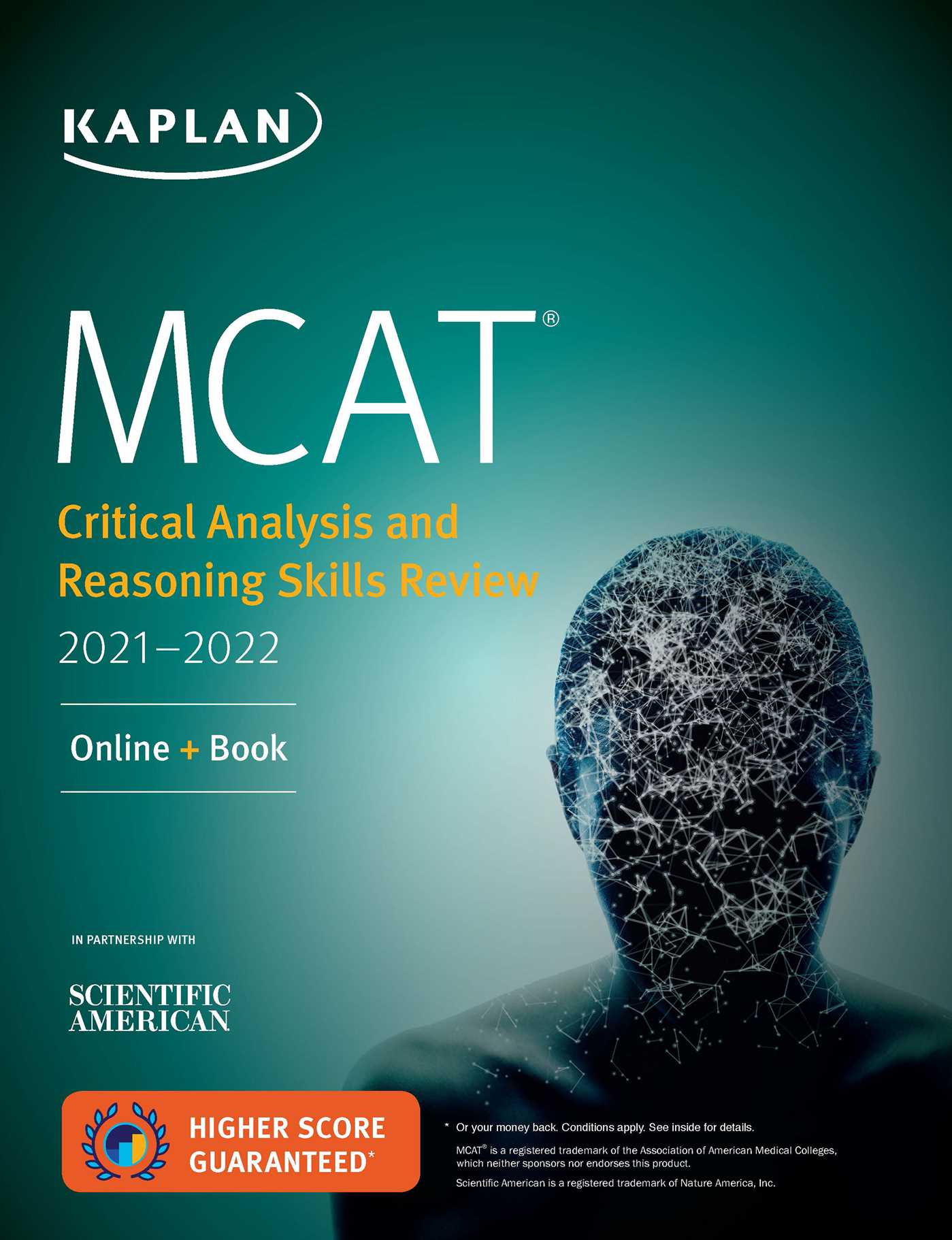 MCAT Critical Analysis and Reasoning Skills Review 2021-2022: Online + Book