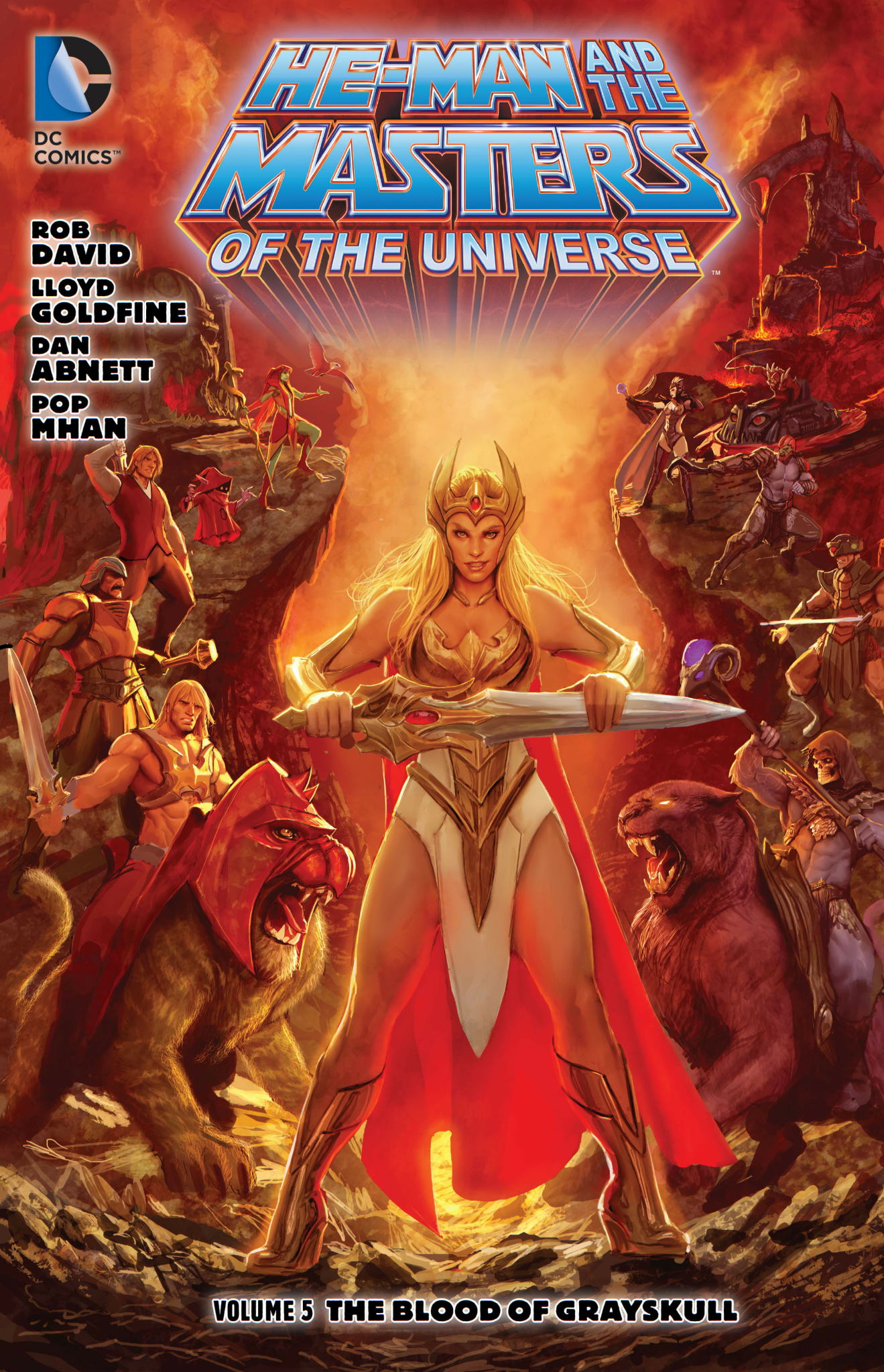 He-Man and the Masters of the Universe, Vol. 5: The Blood of Greyskull
