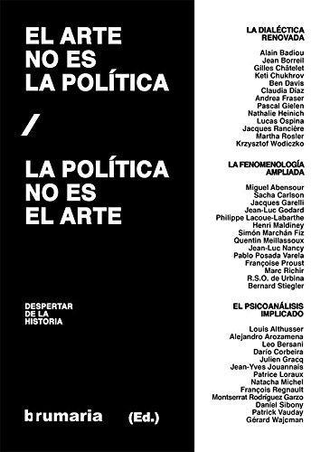 El arte no es la política / La política no es el arte