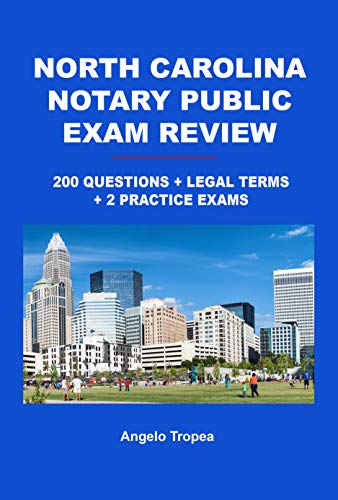 North Carolina Notary Public Exam Review