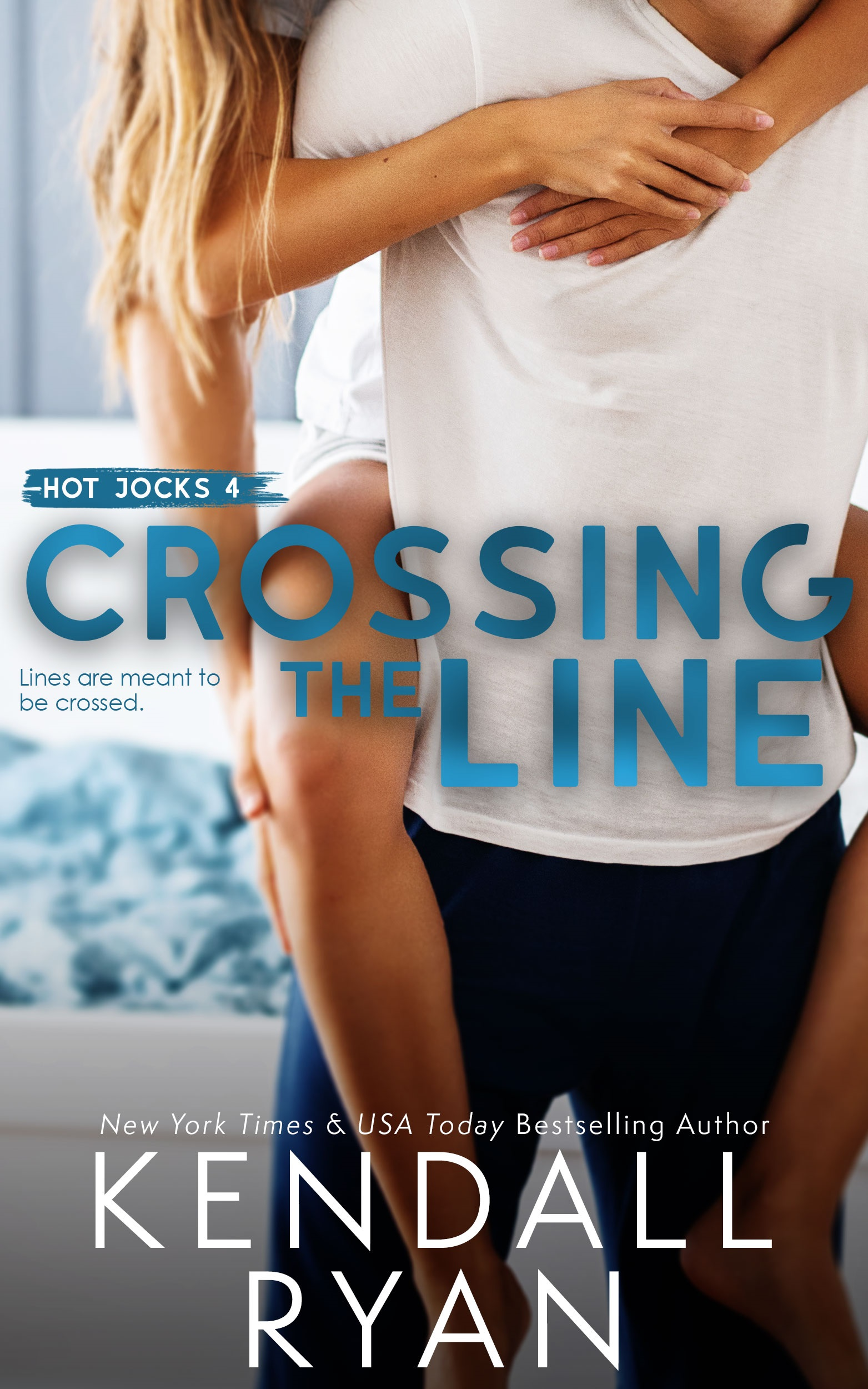 Crossing the Line (Hot Jocks, #4)