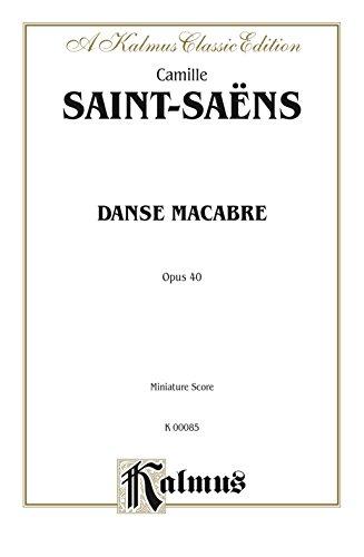 Danse Macabre, Op. 40: Full Orchestra (Miniature Score)