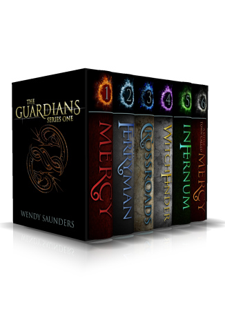 The Guardians Series 1: The Hell Book (Books #1-6: Mercy, The Ferryman, Crossroads, Witchfinder, Infernum, A Little Town Called Mercy)