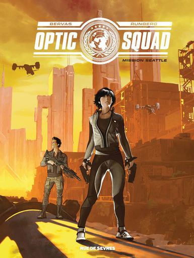 Mission Seattle (Optic Squad, #1)