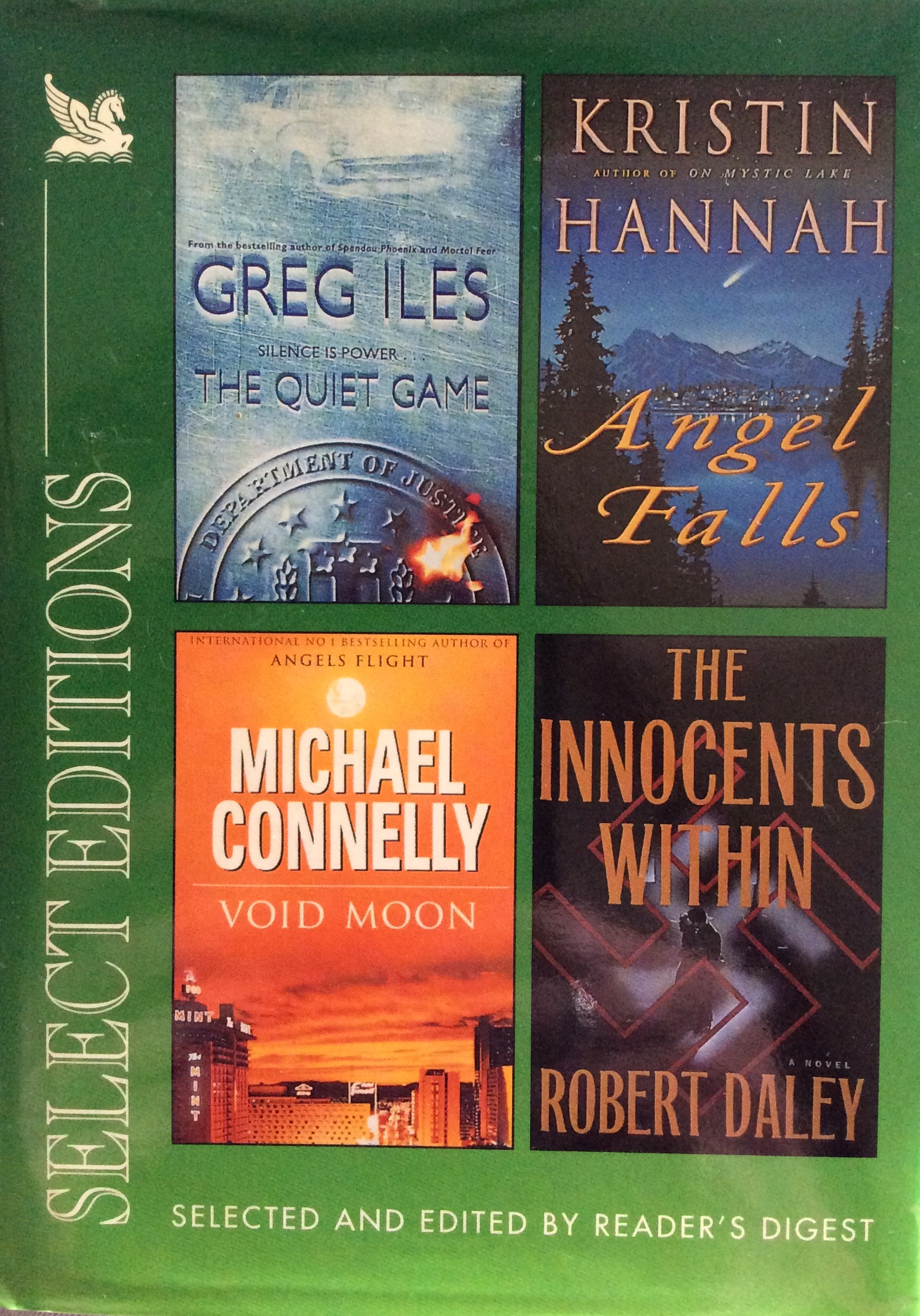 Reader's Digest Select Editions 2000: The Quiet Game, Angel Falls, Void Moon, The Innocents Within