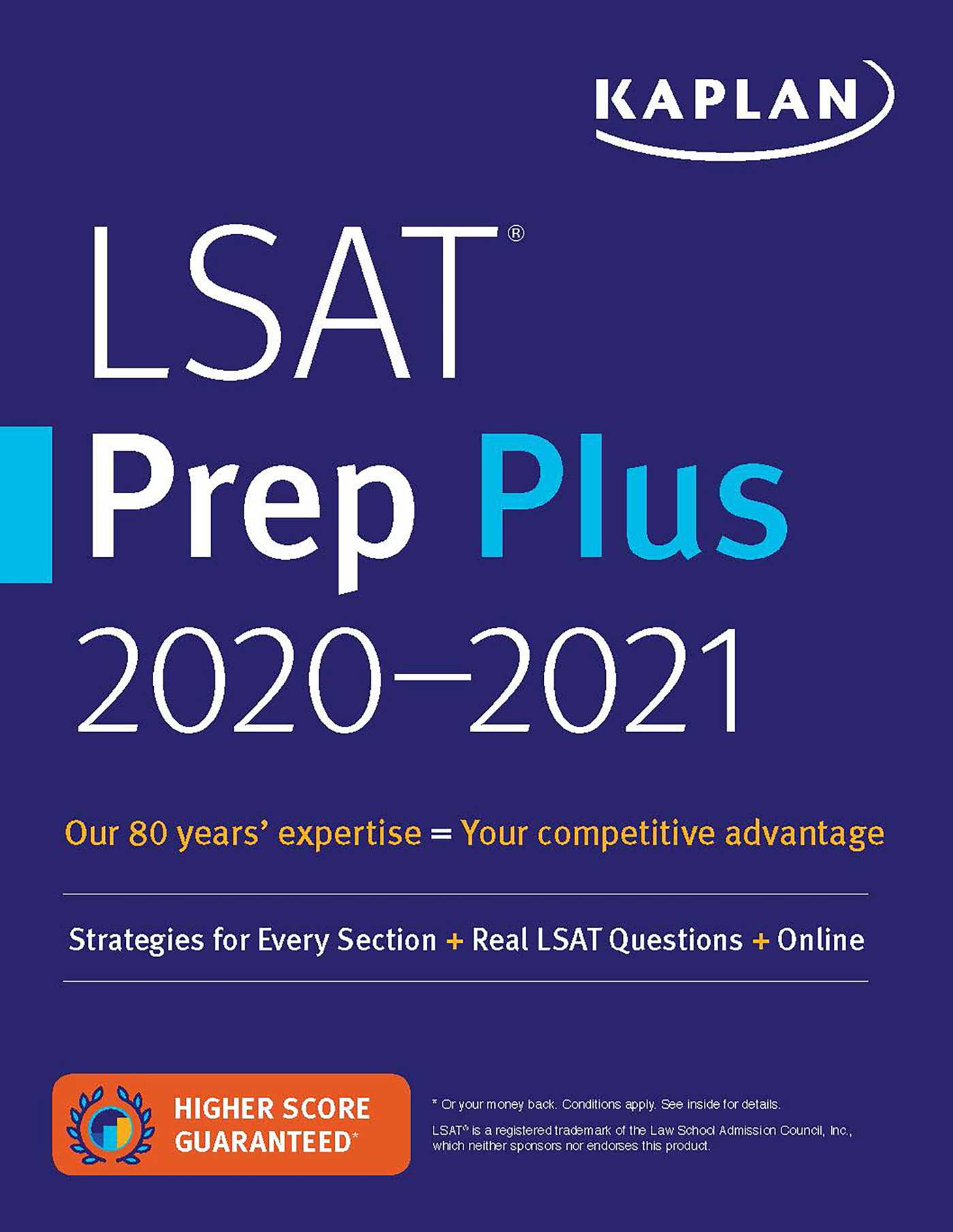 LSAT Prep Plus  2020-2021: Strategies for Every Section + Real LSAT Questions + Online