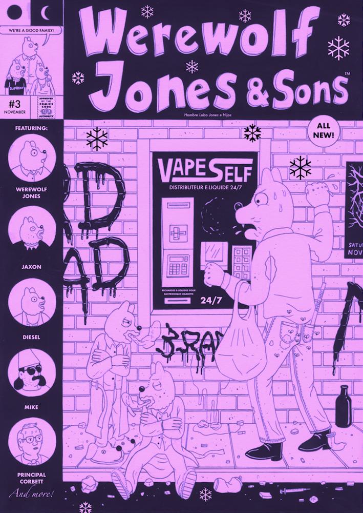 Werewolf Jones & Sons #3 (Werewolf Jones & Sons #3)