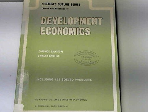 Schaum's Outline of Theory and Problems of Development Economics