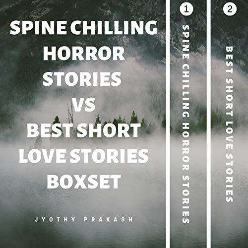 SPINE CHILLING HORROR STORIES VS BEST SHORT LOVE STORIES BOOK SET 1,2