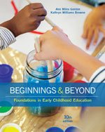 Beginnings & Beyond: Foundations in Early Childhood Education + MindTap® Education, 1 term (6 months) Printed Access Card