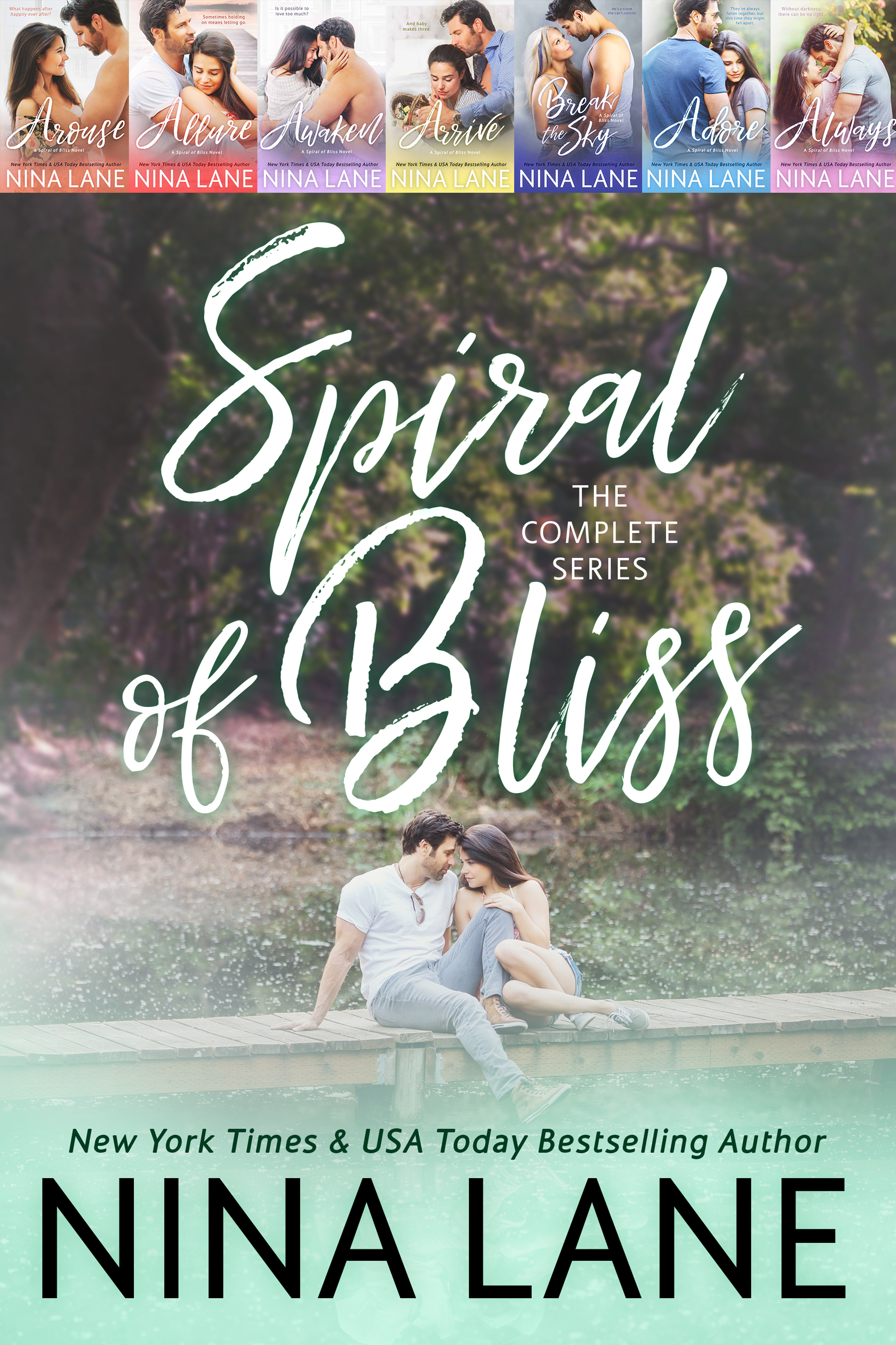 Spiral of Bliss: The Complete Boxed Set (Spiral of Bliss, #1-5)