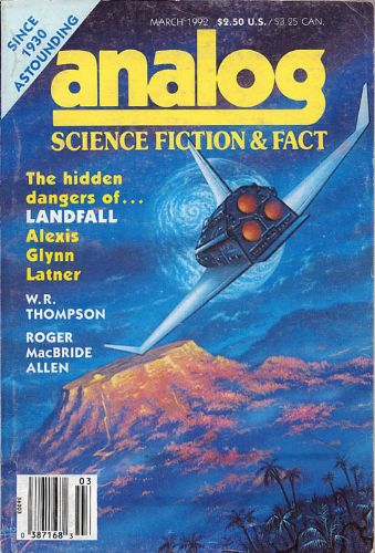 Analog Science Fiction and Fact, March 1992