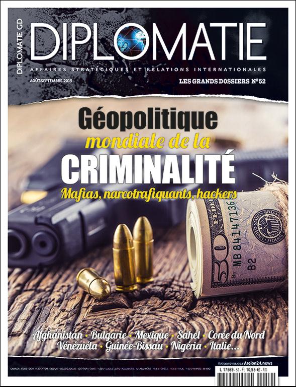 Géopolitique mondiale de la criminalité : mafias, narcotrafiquants, hackers