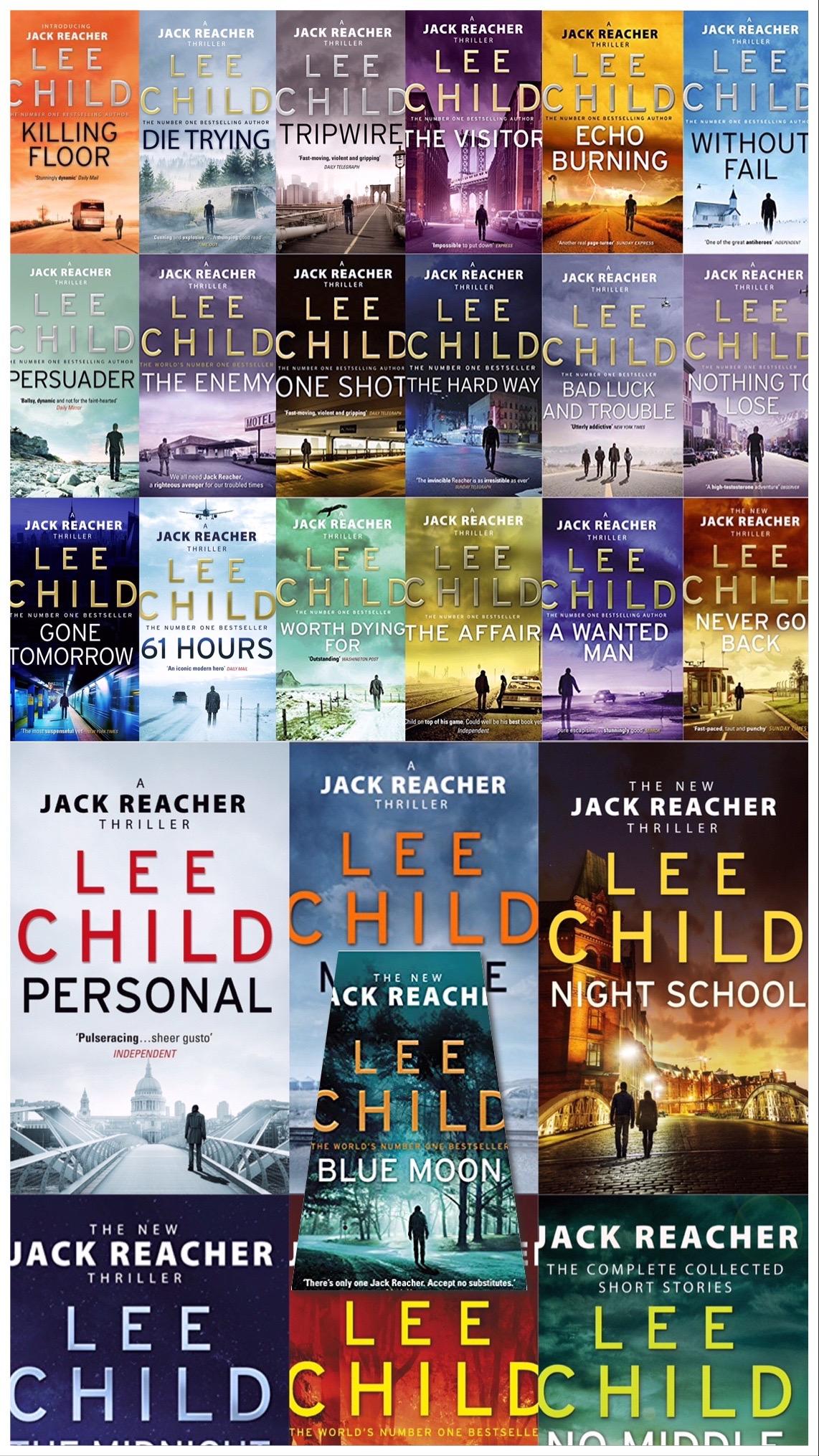 Jack Reacher Complete set (Books 1-24)