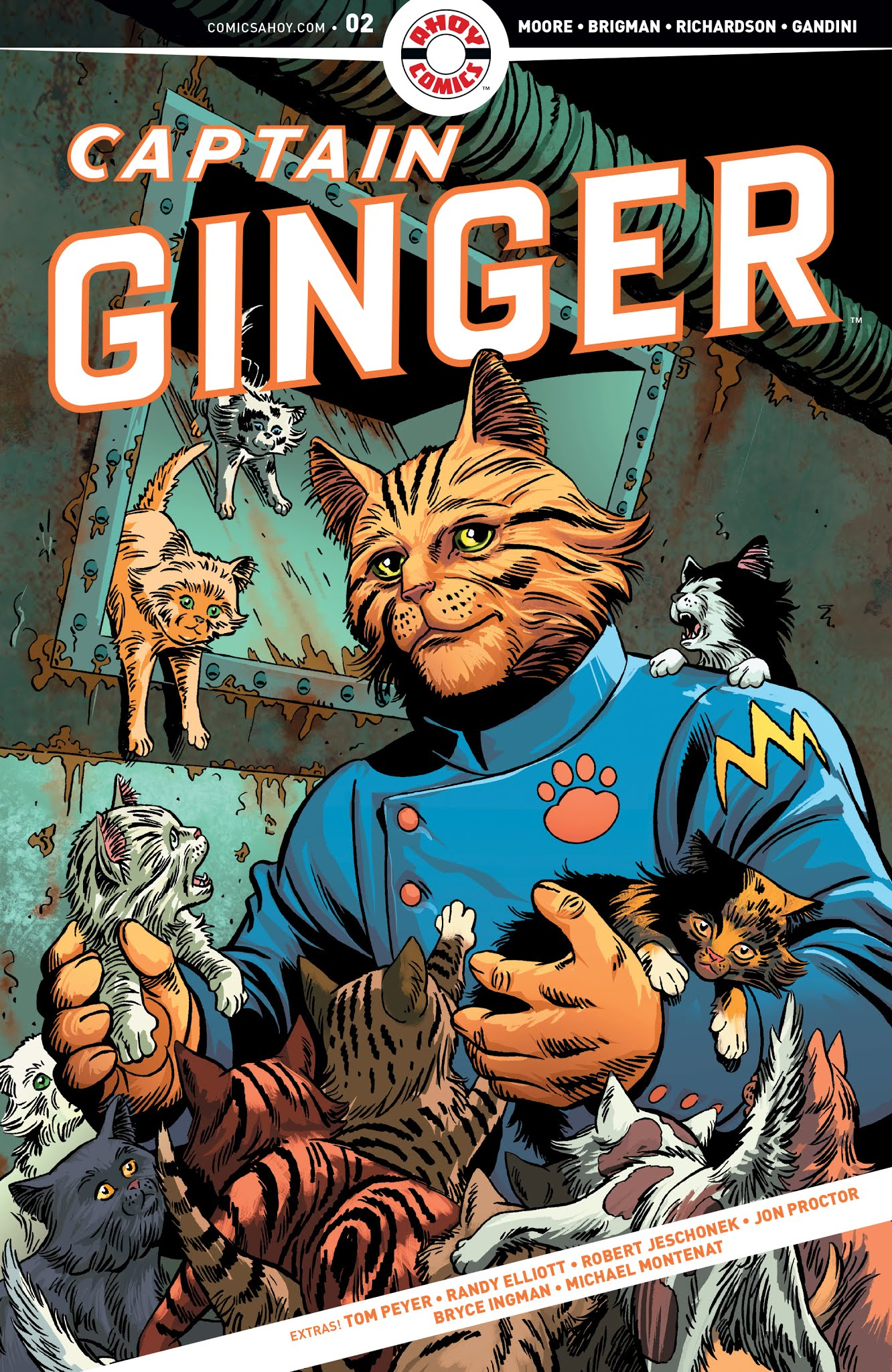 Captain Ginger #2