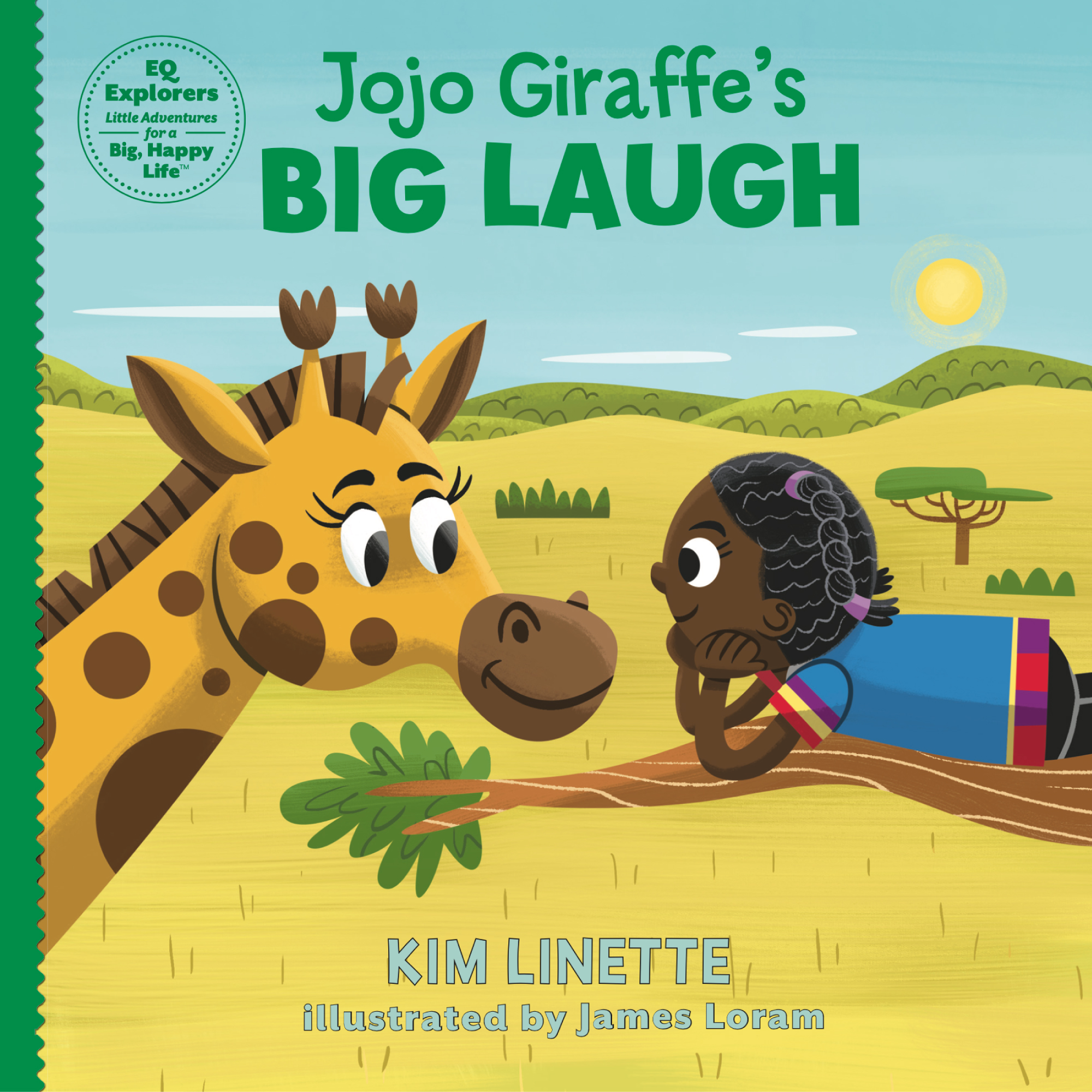Jojo Giraffe's Big Laugh. An adventurous children's story to teach kids about emotional intelligence, bullying and what it means to be unique. (EQ Explorers Book Series)