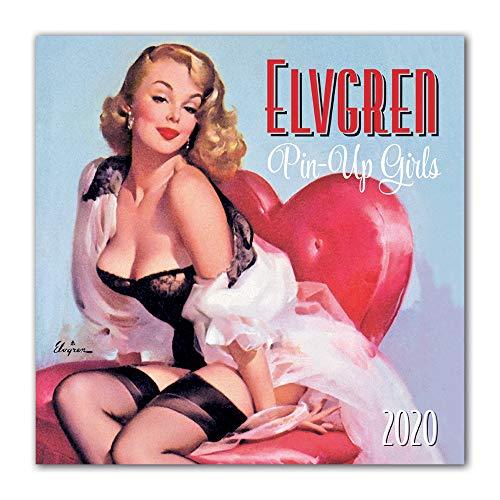 Elvgren's Pin-Up Girls 2020 Calendar