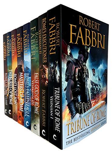 Robert Fabbri Vespasian Series 8 Books Collection Set