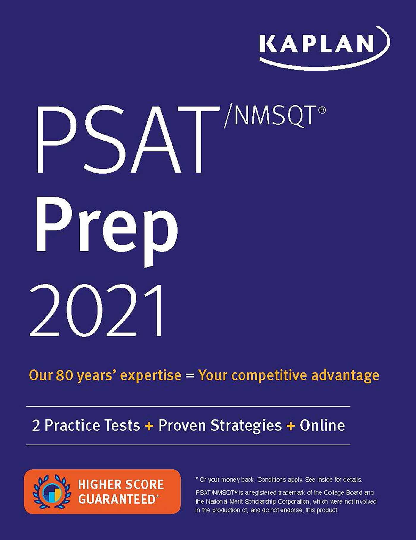 PSAT/NMSQT Prep 2021: 2 Practice Tests + Proven Strategies + Online