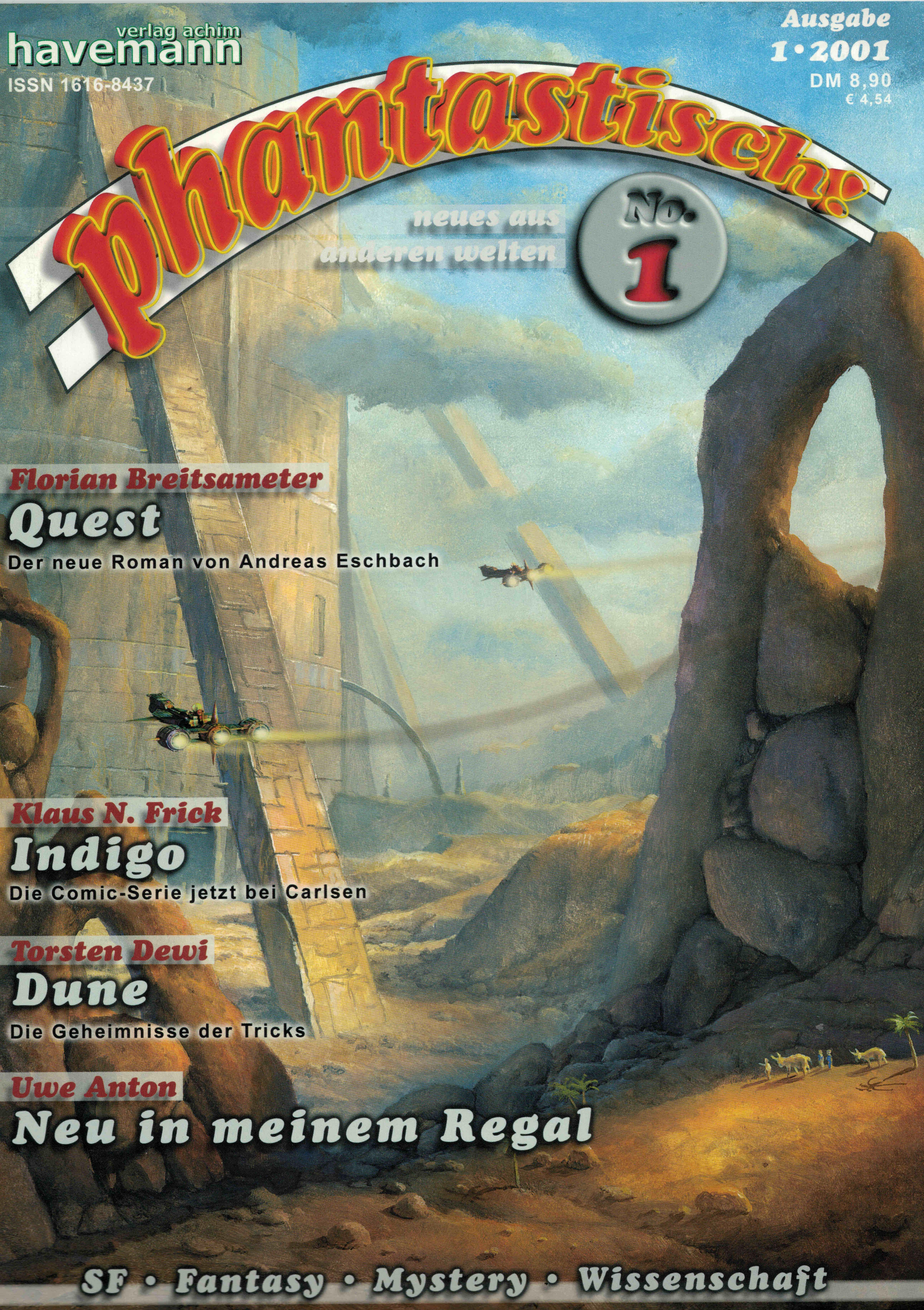 phantastisch! Ausgabe 1 (1/2001)