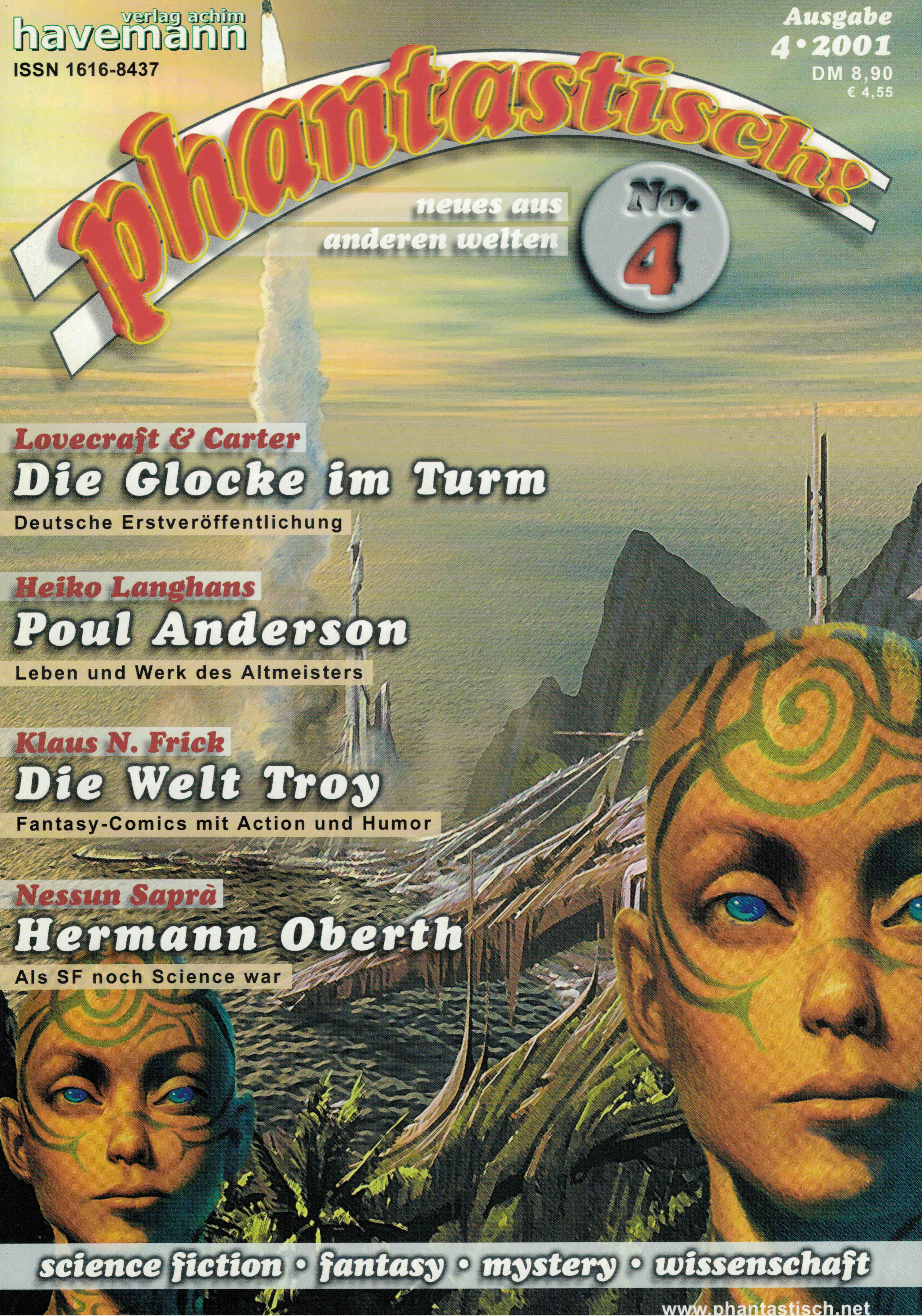phantastisch! Ausgabe 4 (4/2001)