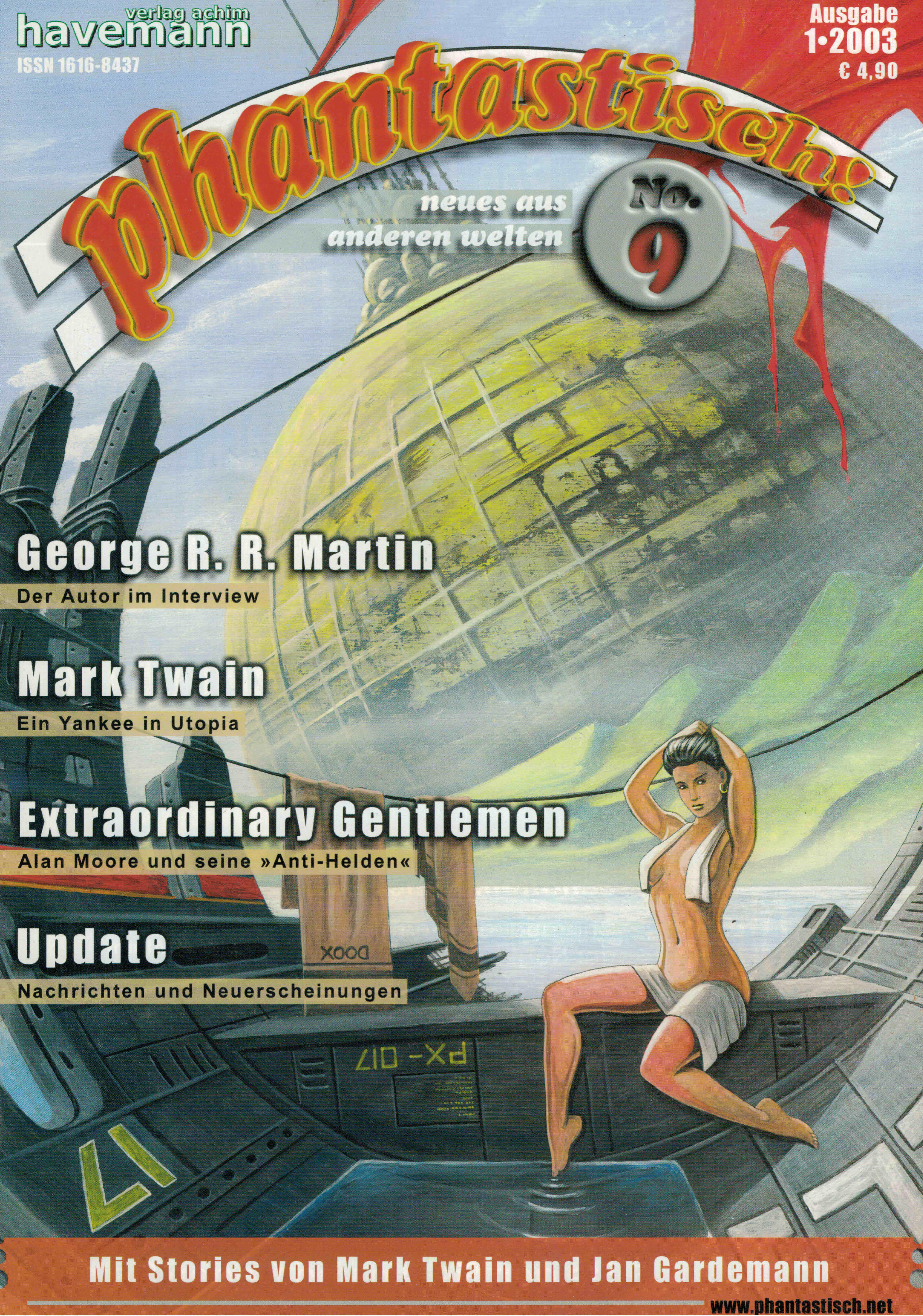 phantastisch! Ausgabe 9 (1/2003)