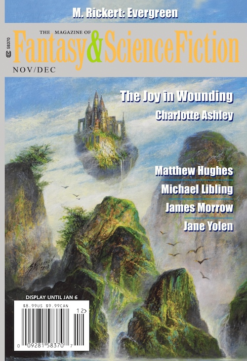 The Magazine of Fantasy & Science Fiction, November/December 2019 (F&SF, #746)