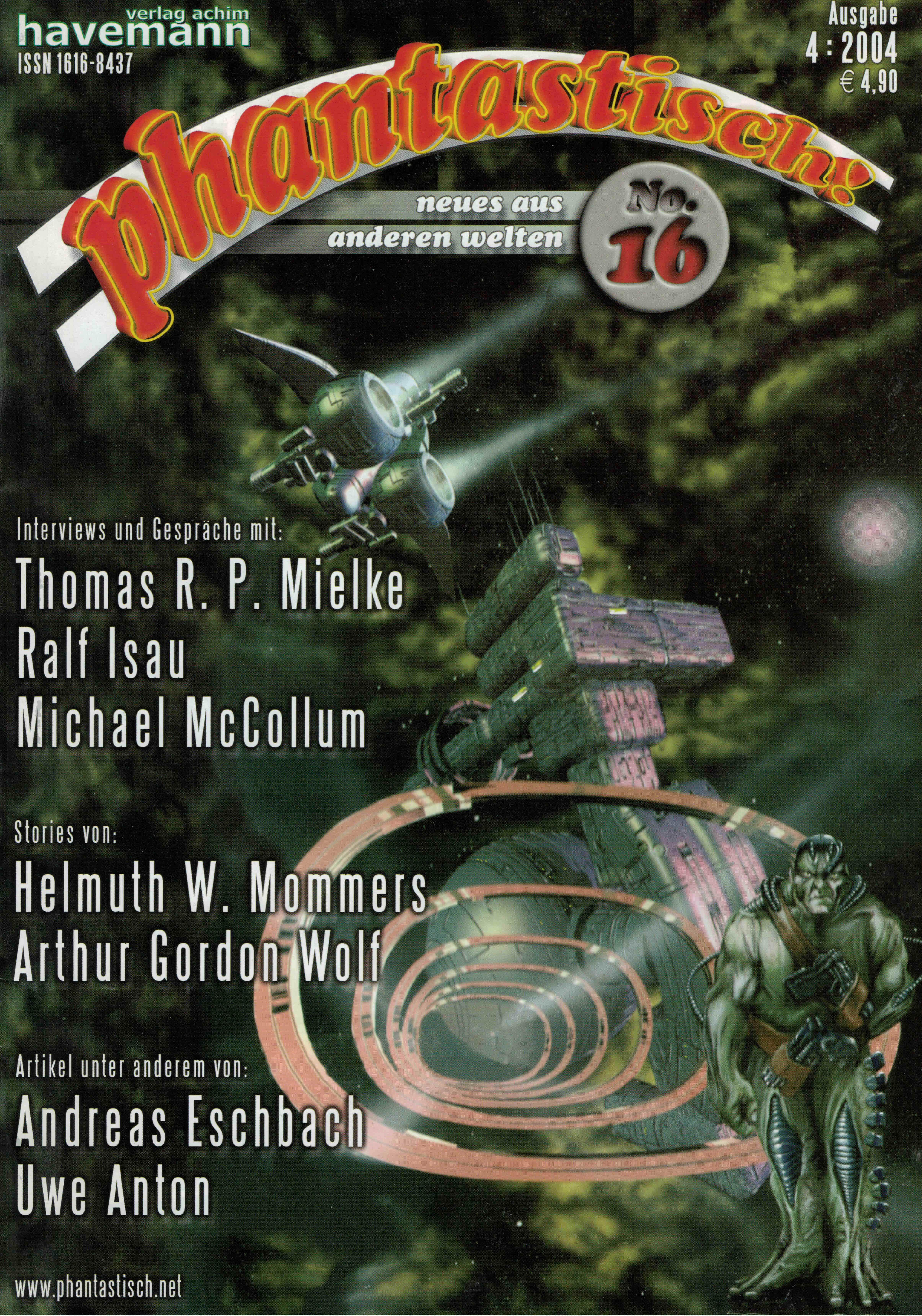 phantastisch! Ausgabe 16 (4/2004)