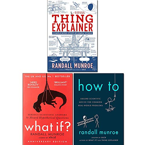 Randall Munroe 3 Books Collection Set