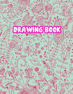 Drawing Book: 8.5 X 11, Personalized Artist Sketchbook: 110 pages, Sketching, Drawing and Creative Doodling Sketch Notebook to Draw and Write Journal (Workbook and Handbook) - Cover Design 13365433