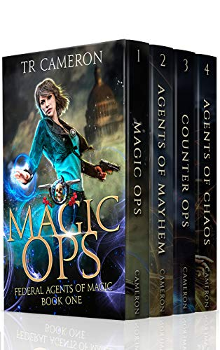 Federal Agents of Magic Boxed Set 1 - Urban Fantasy Action Adventure: Magic Ops, Agents of Mayhem, Counter Ops, Agents of Chaos
