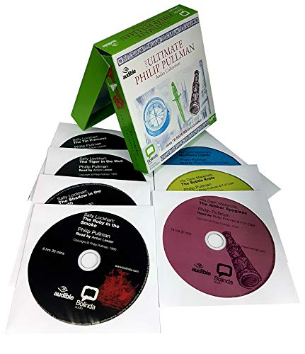 Ultimate philip pullman audio collection 7 mp3 cd's