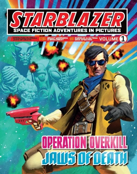 Starblazer, Volume 1: Operation Overkill / Jaws Of Death