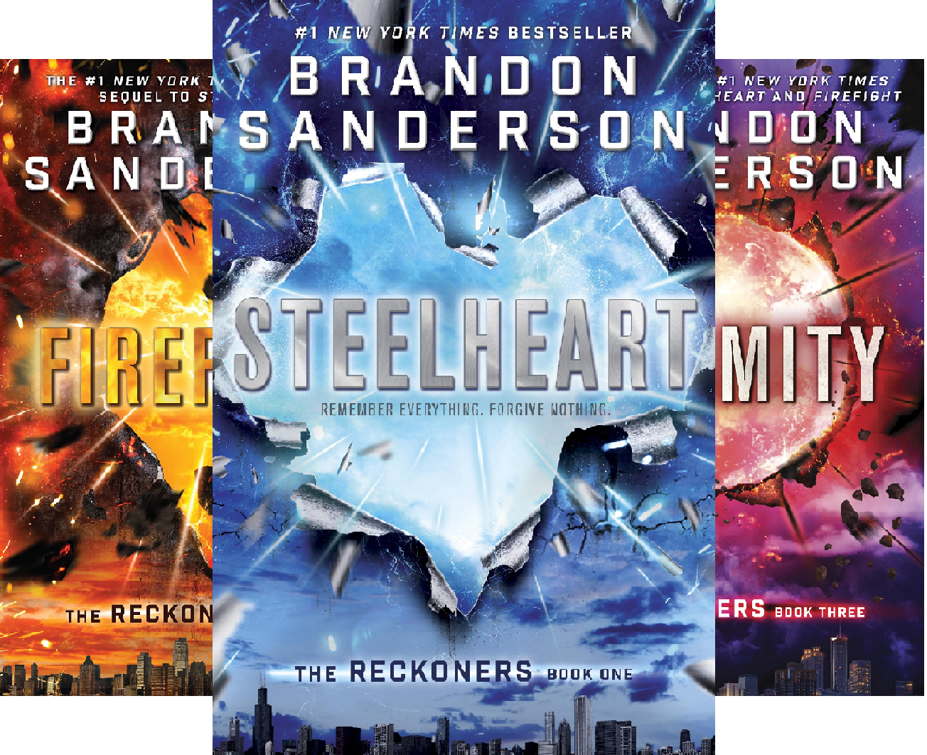 The Reckoners (3 Book Series)