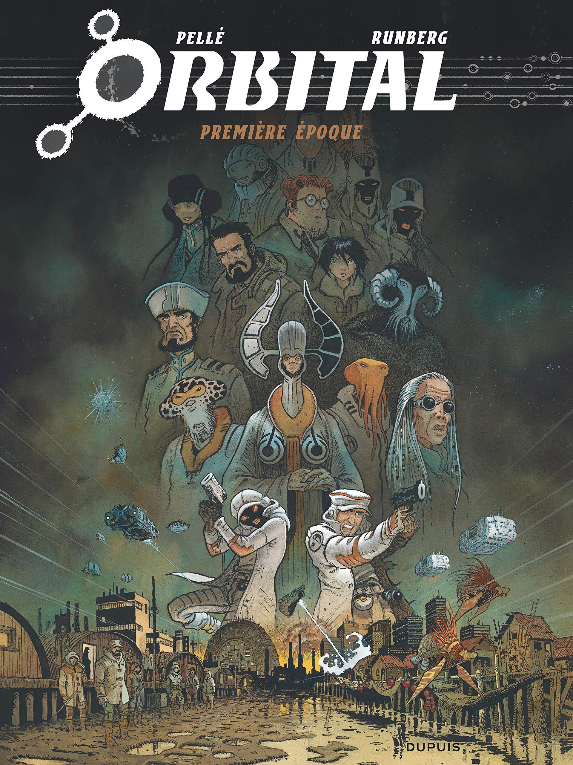 Orbital - L'intégrale tome 1: Première époque