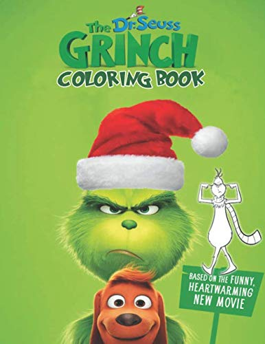 Dr Seuss The Grinch Coloring Book: Over 50 Coloring Pages Of Dr Seuss The Grinch Who Stole Christmas To Inspire Creativity And Relaxation. A Perfect Gift For Kids And Adults That Love Puppy Dog Pals