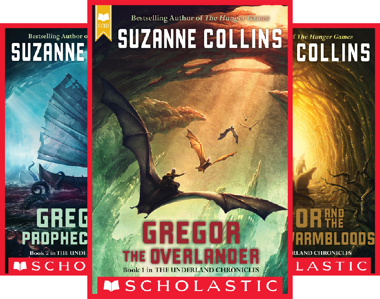 The Underland Chronicles (5 Book Series)