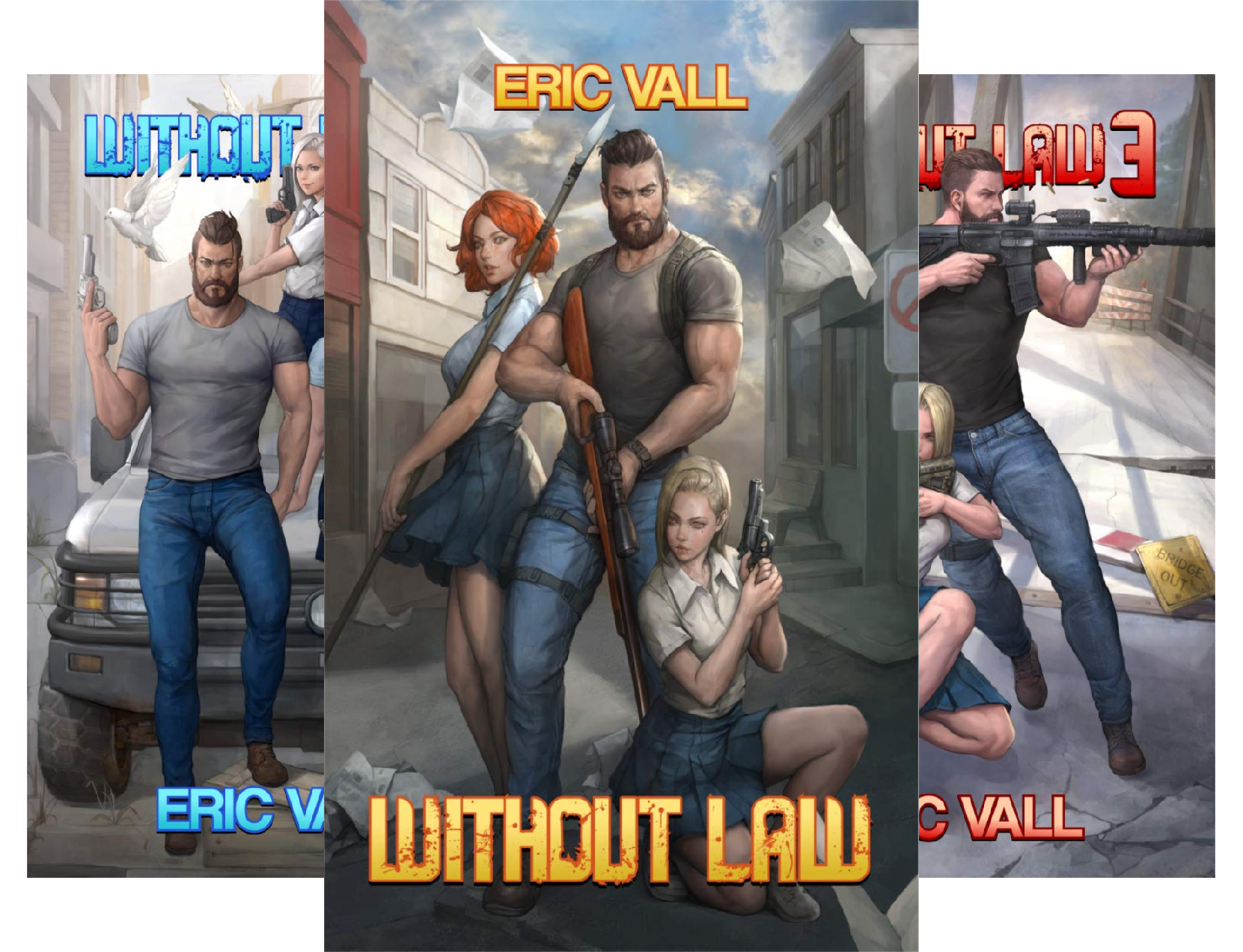 Without Law (6 Book Series)