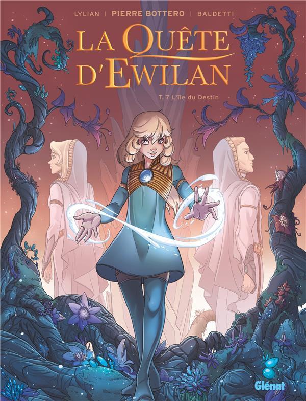L'île du Destin (La Quête d'Ewilan BD, #7)