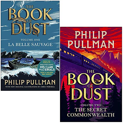 Book of Dust 2 Books Collection Set