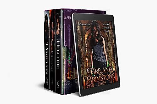 Fortuna Academy Box Set Books 1-4: A Reverse Harem Paranormal Academy Romance
