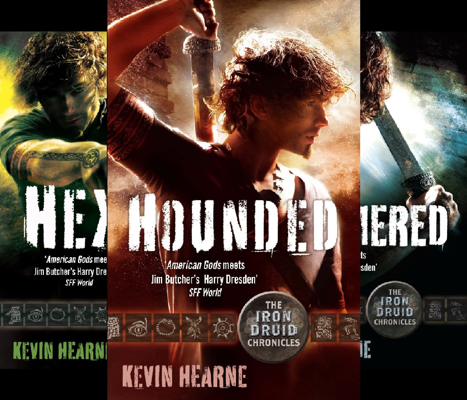 Iron Druid Chronicles (9 Book Series)