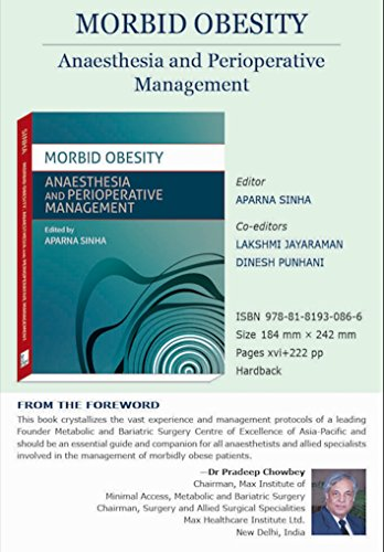 Morbid Obesity : Anaesthesia and Perioperative Management