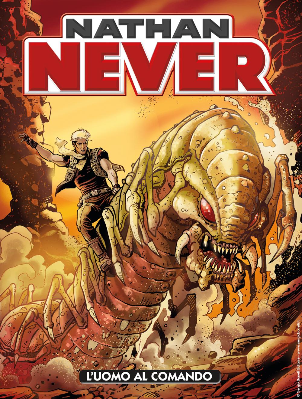 Nathan Never n. 342: L'uomo al comando